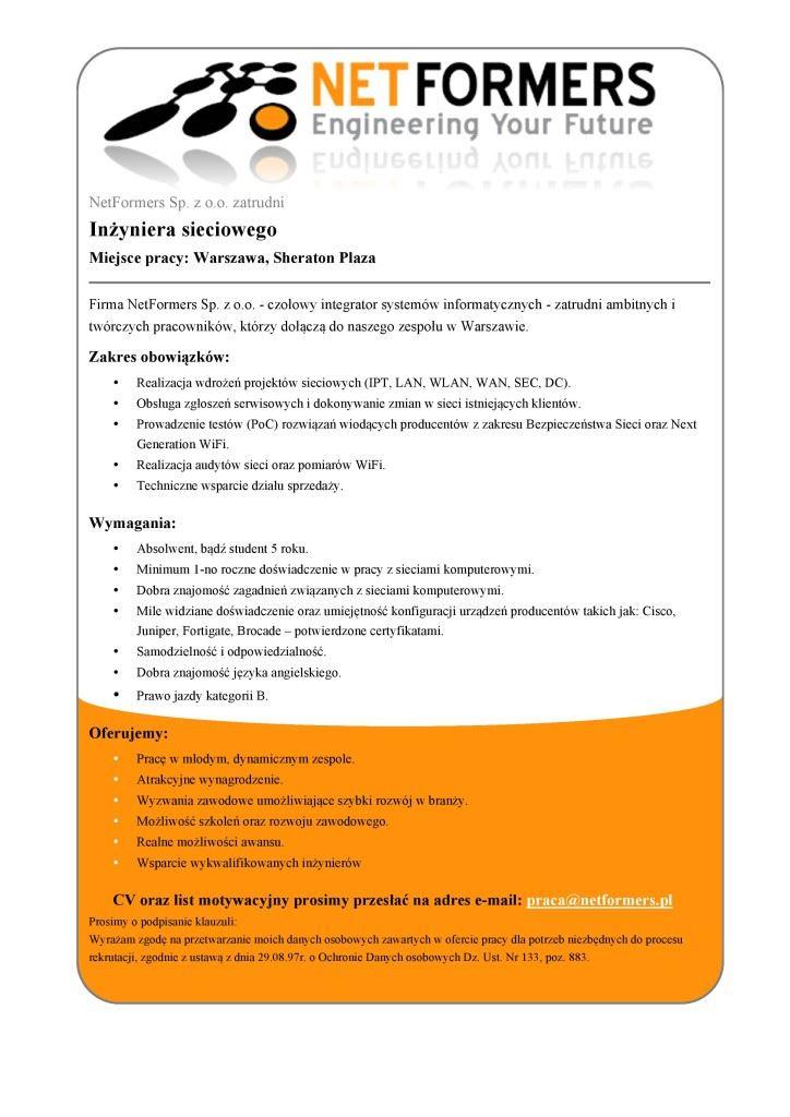 netformers_network_engineer_job