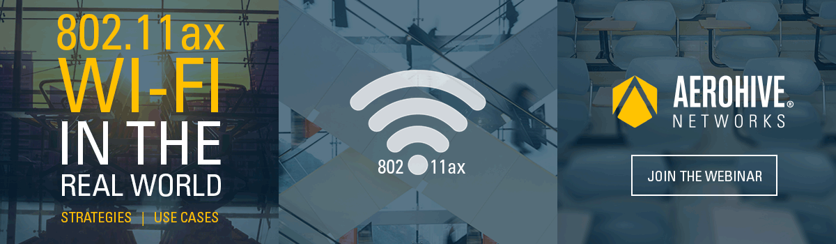802.11ax Wi-Fi in the real world